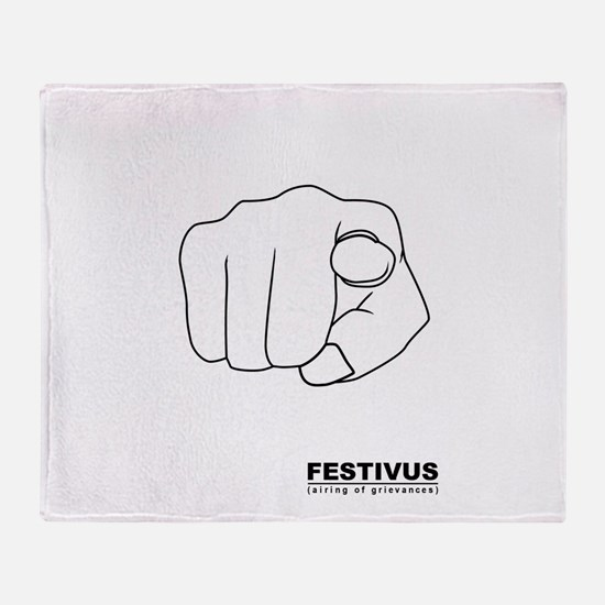 FESTIVUS™ airing of grievances Throw Blanket