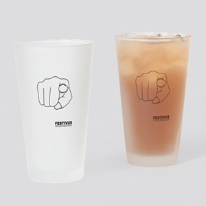 FESTIVUS™ airing of grievances Drinking Glass