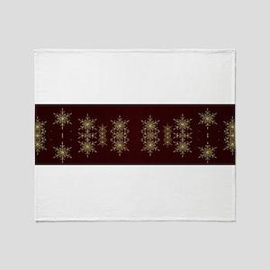 red stars Throw Blanket