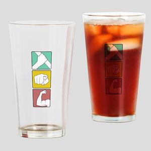 FESTIVUS™ illustrated Drinking Glass