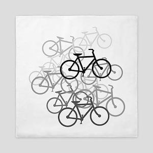 Bicycles Design Queen Duvet
