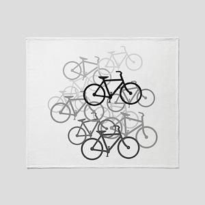 Bicycles Design Throw Blanket