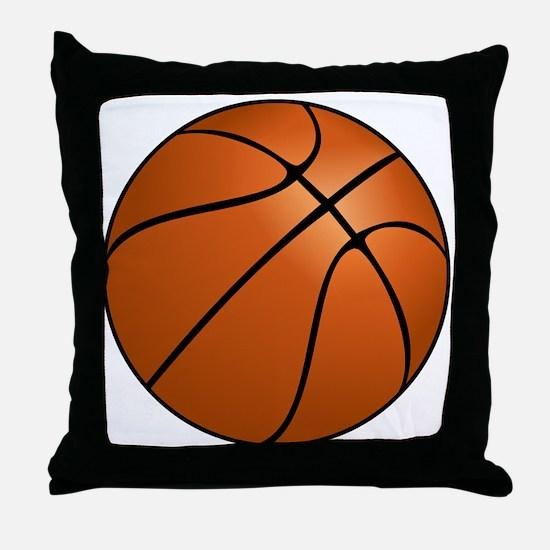 Cute Basket ball Throw Pillow