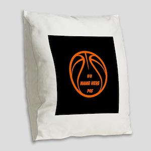 Personalized Basketball Name Number Orange Black B