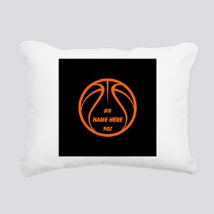Personalized Basketball Name Number Orange Black R