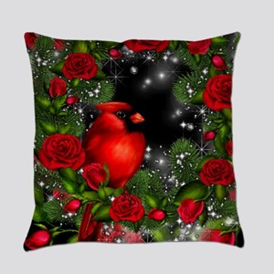 SPARKLING CARDINAL Everyday Pillow