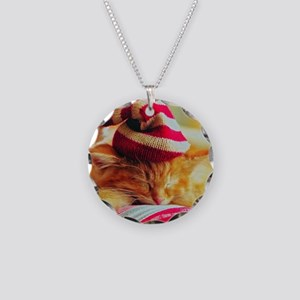 Christmas Kitty Necklace