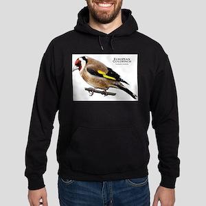 European Goldfinch Hoodie (dark)