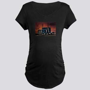 Peterbilt Long nose Maternity T-Shirt