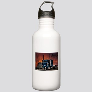 Peterbilt Long nose Stainless Water Bottle 1.0L