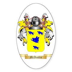 McAuslin Sticker (Oval)