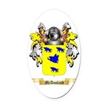 McAusland Oval Car Magnet