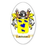 McAusland Sticker (Oval 50 pk)