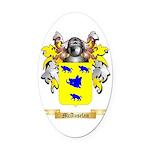 McAuselan Oval Car Magnet