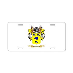 McAuselan Aluminum License Plate
