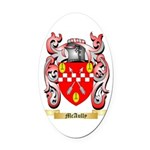 McAully Oval Car Magnet