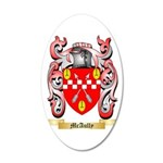 McAully 35x21 Oval Wall Decal