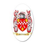 McAullay 20x12 Oval Wall Decal