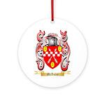 McAuley Round Ornament