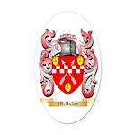 McAulay Oval Car Magnet