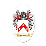 McAteer Oval Car Magnet