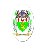 McArtain 35x21 Oval Wall Decal