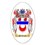 McArdell Sticker (Oval)