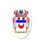 McArdell 20x12 Oval Wall Decal