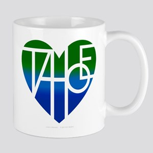Tahoe Lover's Heart Mugs