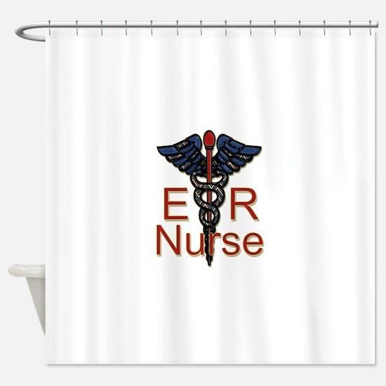 ER Nurse Shower Curtain