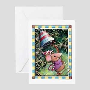 Holiday Mouse Card Greeting Cards