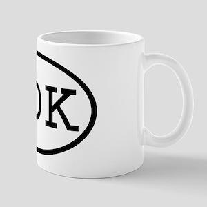 IDK Oval Mug