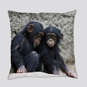 Chimpanzee002 Everyday Pillow