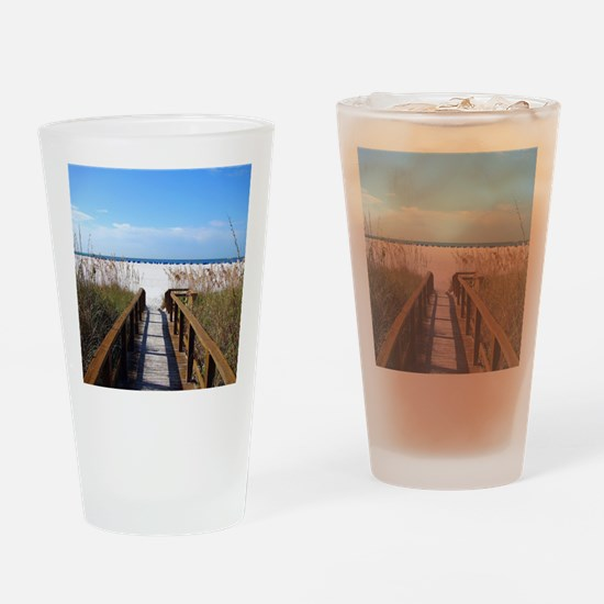 Unique Beach Drinking Glass