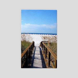 Walk on the Beach Area Rug
