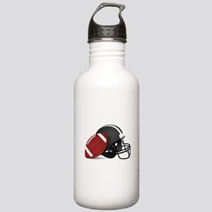 Football And Helmet Stainless Water Bottle 1.0L