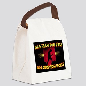 MUSIC 4 FREE Canvas Lunch Bag