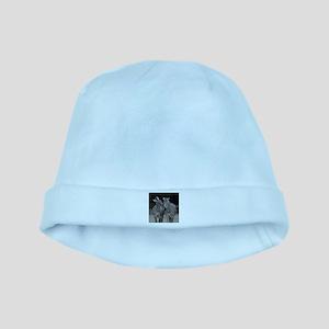 Zebra005 baby hat