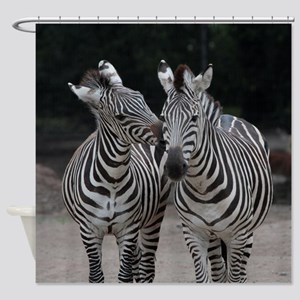Zebra005 Shower Curtain
