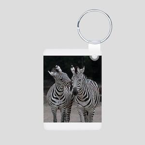 Zebra005 Keychains