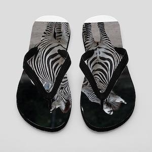 Zebra005 Flip Flops