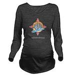 WB-Logo-800X531 Long Sleeve Maternity T-Shirt