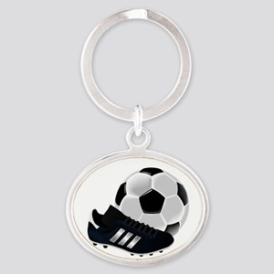 Soccer Ball And Shoe Keychains