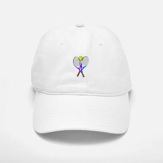 Tennis Rackets and Ball Cap