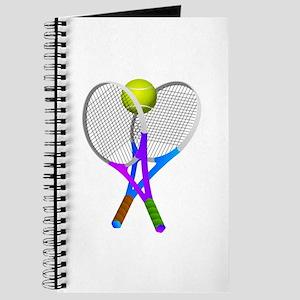 Tennis Rackets and Ball Journal