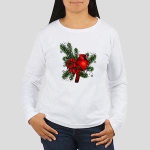 CARDINAL/PINE Women's Long Sleeve T-Shirt