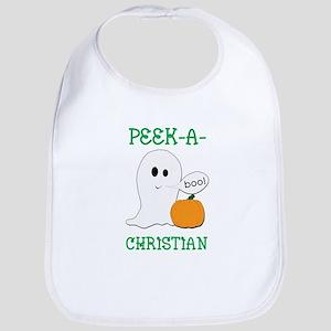 Christian Halloween Peek-A-Bo Bib