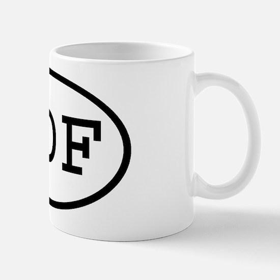 IDF Oval Mug