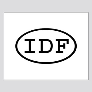 IDF Oval Small Poster