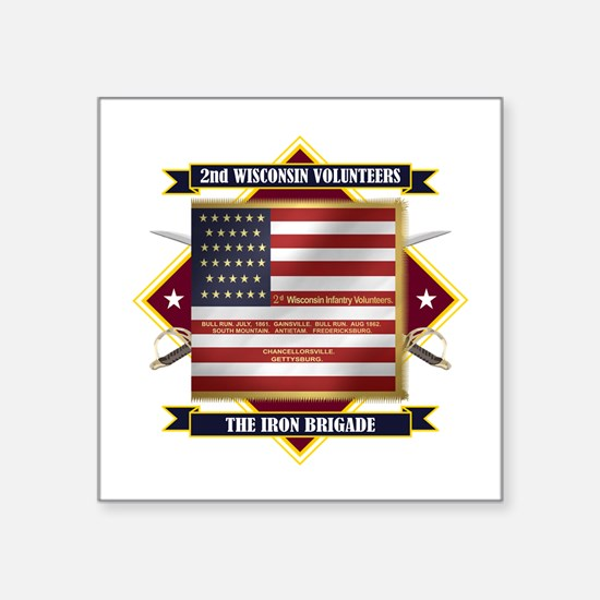 2nd Wisconsin Volunteers Sticker